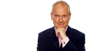 "Gyles's show is called ""In Search Of Happiness"