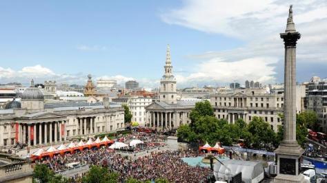 West End Live 2013 in Trafalgar Square