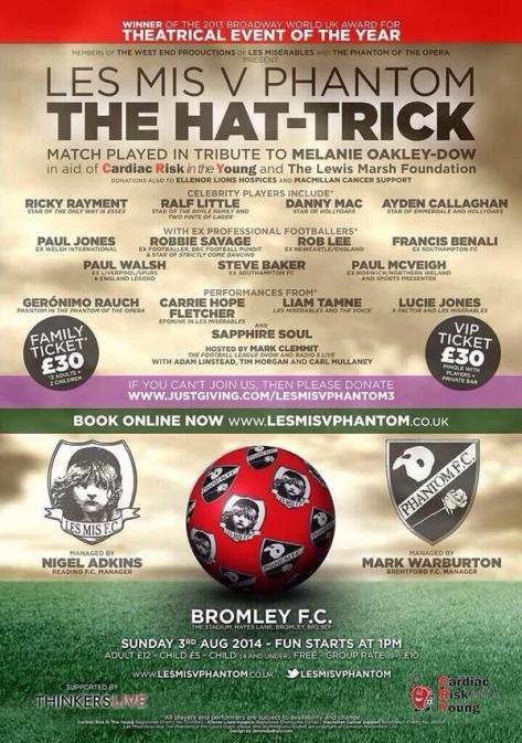 Charity Football poster