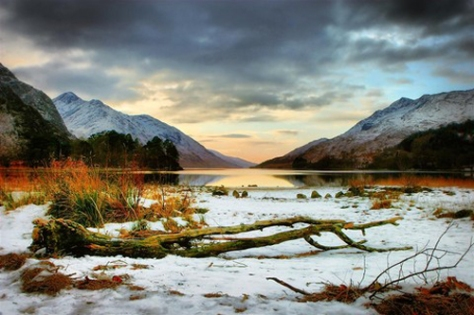 Scottish Winter Scene