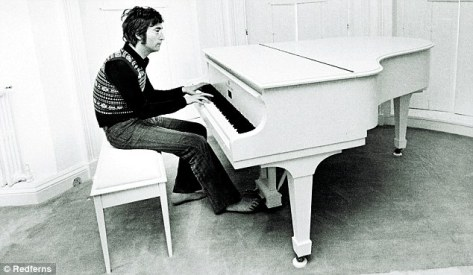 John Lennon famously ordered a white grand piano from Steinway for Yoko's 38th birthday