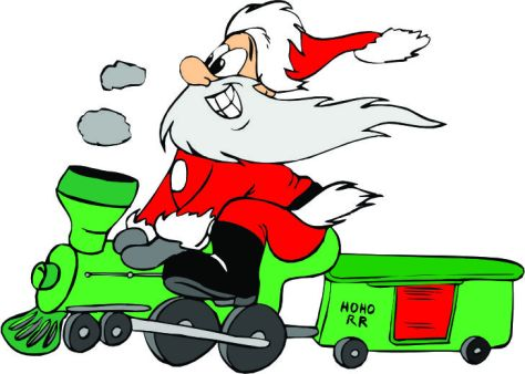 cartoon-santa-riding-a-train