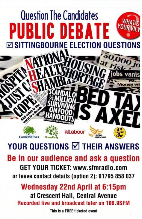Sittingbourne Election Questions