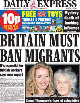 Daily Express Headline