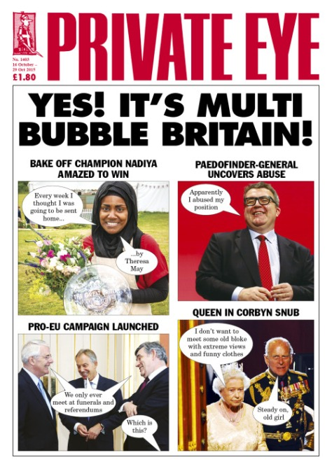 October 13, 2015 Yes! It's Multi Bubble Britain! Eye 1403 is in  shops now.