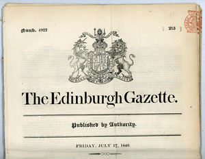 Edinburgh Gazette