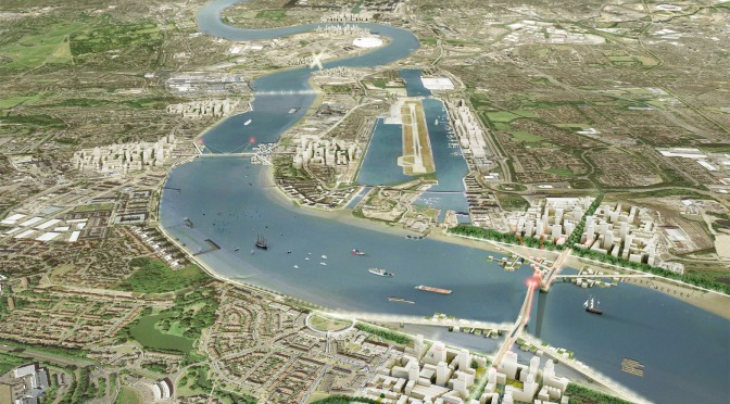 Mayor of London unveils plans for three new Thames river crossings