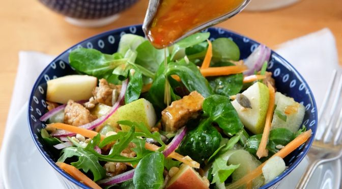 Festive Flavours: Fruit and Nut Salad with Chilli and Lime