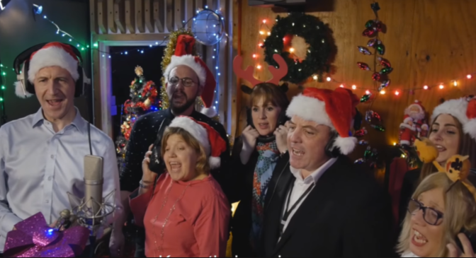 The 'National Living Rage' Christmas song!