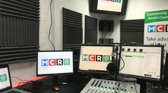 Local Radio making a comeback as former 60's pirate DJ and Maidstone Lion helps launch a new radio studio in Maidstone…